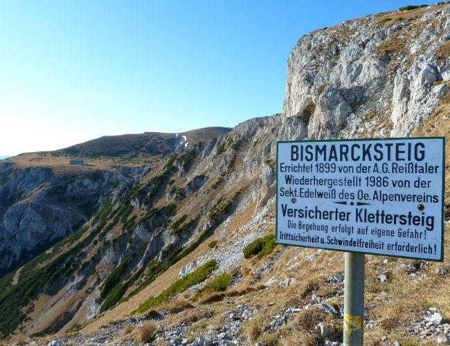 Klettersteige und Klettern im Naturpark Mürzer Oberland