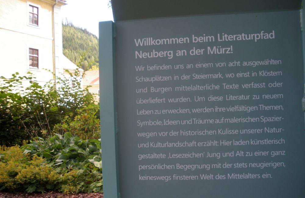 Literaturpfad 1