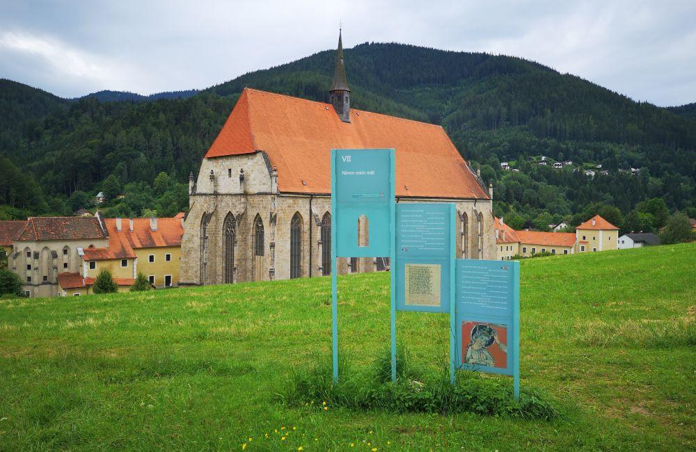 Münster mit Literaturpfad
