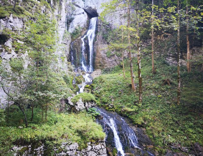 Wasserfall zum Toten Weib