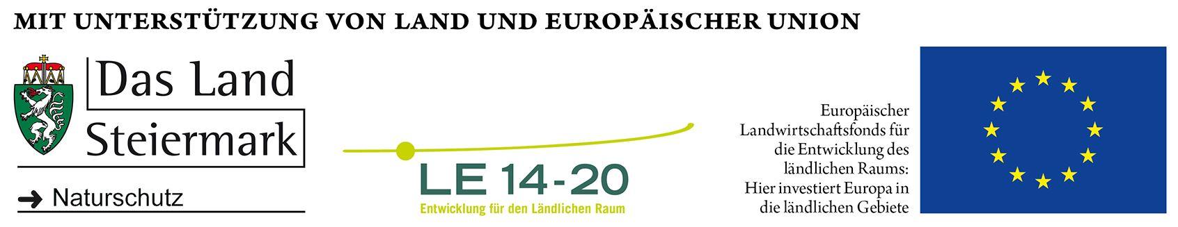 Mit Unterstützung von Lanf und Europäischer Union