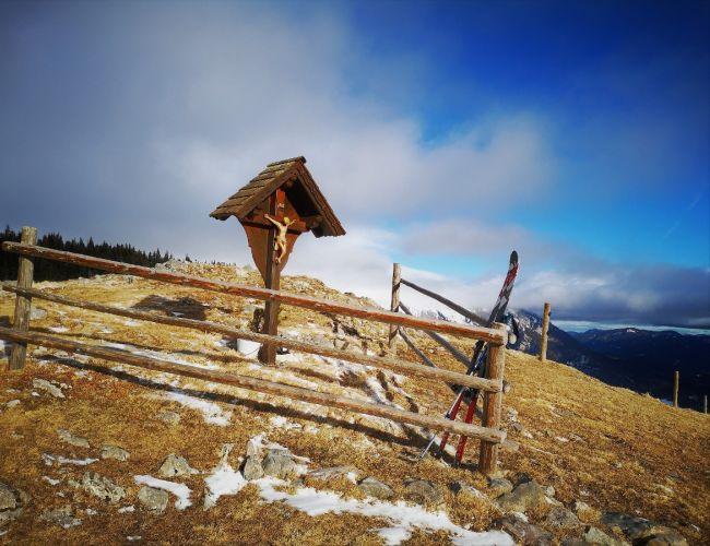 Skitour auf die Lachalm